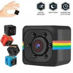 Mini Camera Filma Resolução 1280x960p, Detecção De Movimento