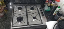 Cooktop Brastemp Ative! 4 bocas em inox
