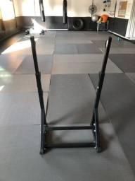 Suporte cavalete para barra Supino, biceps e outros