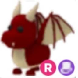 adopt me pet: dragão