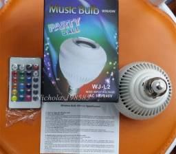 Music Luminária Led Bluetooth com Caixa de som