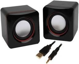 Promoção caixa de som Pc USB
