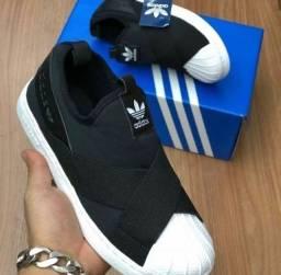 Tênis Adidas Slip-ON unissex (PROMOÇÃO)