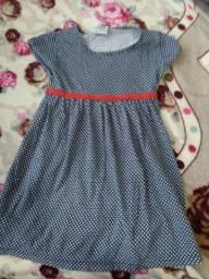 Lote de vestido infantil de 2anos