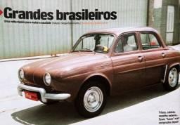 Revista Quatro Rodas - Gordini Teimoso