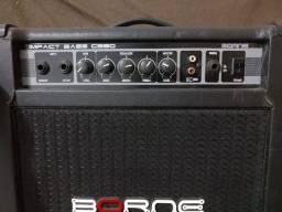 Cubo Amplificador Para Baixo Borne Impact Bass CB80 30W