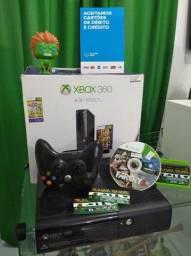 Xbox 360 super slim travado 4gb + 3 meses de garantia