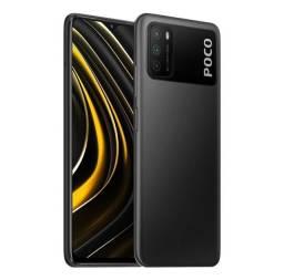 """Smartphone Xiaomi POCO M3 Dual SIM 128GB de 6.53"""" 48+2+2MP/8MP OS 10 - Power Black"""