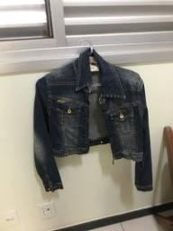 Jaqueta jeans curta P