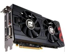 AMD Rx570 4Gb Gddr5 seminova