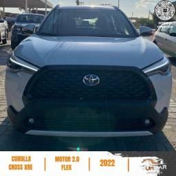 Título do anúncio: Toyota Corolla Cross - XRE - 2022 - 0Km Emplacado - Branco Pérola