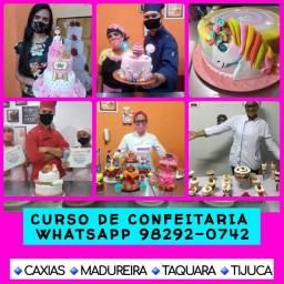CURSO DE CONFEITARIA