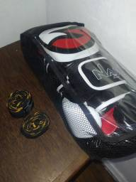 Kit luva boxe/ Muay Thai Naja + bandagem Pretorian