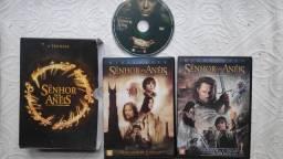 Trilogia DVD Senhor dos Anéis - aceito cartão e entrego