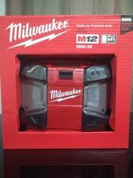 Rádio de Trabalho M12 12V Faixa AM/FM 10W - Milwaukee -2590-59