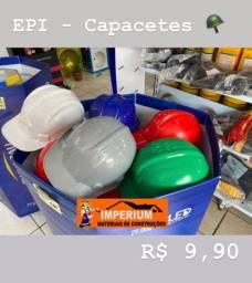 Capacetes de segurança EPI