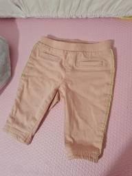 Calça jeans Carters - tamanho 3 meses