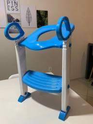 Redutor de Assento Clingo Azul com escada!