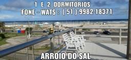 COBERTURA-1 e 2 dormitórios-Centro Arroio do Sal - C/WIFI
