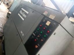 Título do anúncio: Compressor GA 75, Atlas Copco, motor 100 cv, novo em folha.