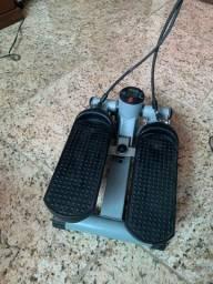Mini Stepper 3 em 1 com corda - simulador de caminhada