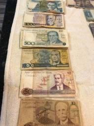Cédulas Brasileiras antigas para colecionador