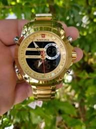 Relógio de luxo NAVIFORCE ORIGINAL