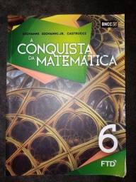 Livro A conquista da Matemática 6°ano