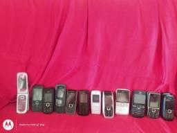 celular Nokia analógico relíquia 1/2 chips usados c/marcas de uso aceito pix-cartão