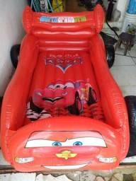 Carro inflável