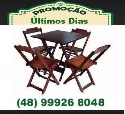 Título do anúncio:  Mesas e cadeiras de madeira fabricamos e entregamos