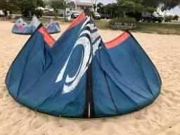 Kitesurf completo Cabrinha Vector 11 - 2012 + prancha e trapézio
