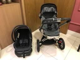 Carrinho Bebê Quiinny - competo com bebe conforto e em ótimo estado