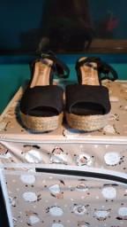 Sandália plataforma tamanho 37