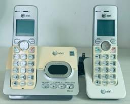Vendo Base + ramal Telefone sem fio com secretária eletrônica