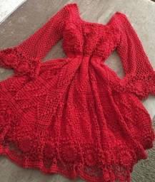 vestindo de croche
