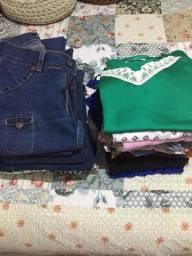 Lote de roupas - desapego (leia o anúncio)