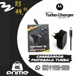 Carregador Turbo Motorola Type C