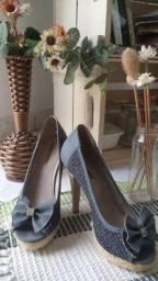 Sandalia azul 35