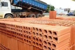 Tijolos, Blocos de concreto e telhas direto da cerâmica
