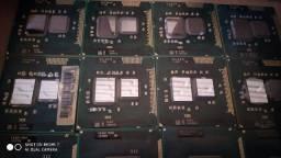 Lote de Processadores Intel para Notebook