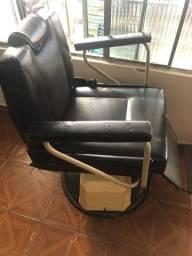 Cadeira de barbeiro elétrica