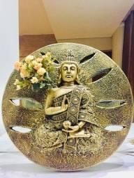 Quadro Buda Enfeite Zen Decoração Templo De Meditação Único e exclusivo