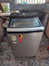 Máquina de lavar panasonic 16kg em bom estado de conservação: R$ 900,00