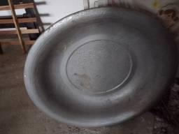 Bacia grande de alumínio barato 40 reais