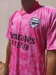 Camisa do Arsenal Uniforme 3 Rosa 2021