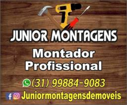 Título do anúncio: Montador de moveis profissional