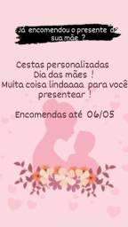 Cestas personalizadas  Dia das mães