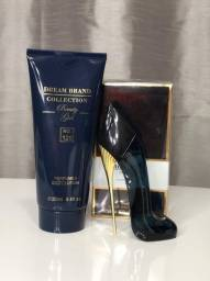 Kit Perfume + Creme Hidratante Brand Collection Nº126 (Good Girl)