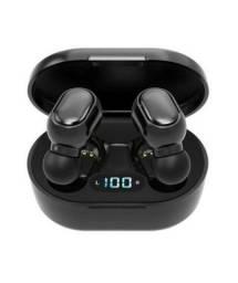 E7S Fone De Ouvido Sem Fio Bluetooth Com Cancelamento De Ruído Display Led